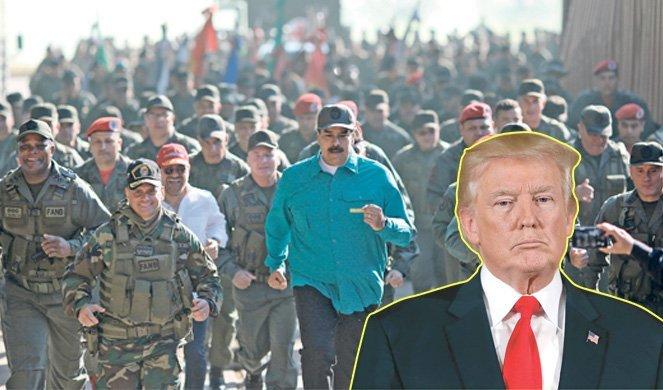 MADURO DIGAO VOJSKU NA NOGE ZBOG TRAMPA! Rastu strahovi od krvavog scenarija u Venecueli!